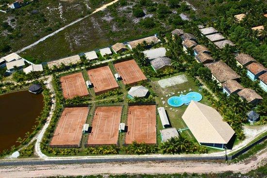 Capitania Praia Hotel: Vista Aéreo do Hotel