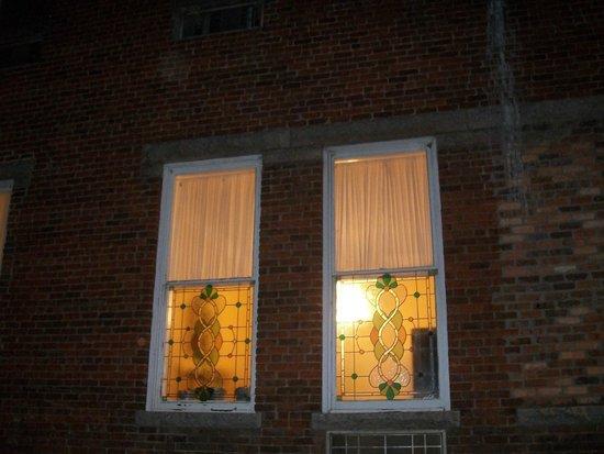 Carolina History & Haunts: Windows of hotel
