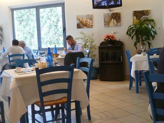 Ristorante la Campanella : Restaurant dining room