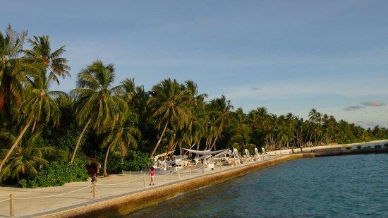 Shangri-La's Villingili Resort and Spa Maldives : Lounge area