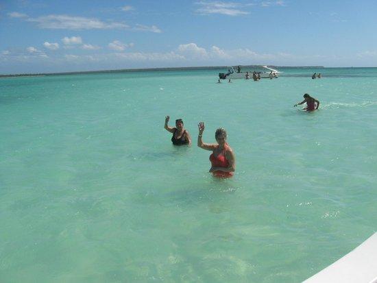 Luxury Bahia Principe Esmeralda Don Pablo Collection: In the Lagoon on a Catamaran trip