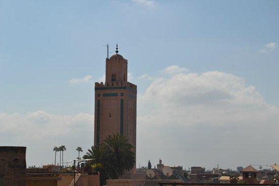 Riad Amssaffah: Vista dalla terrazza