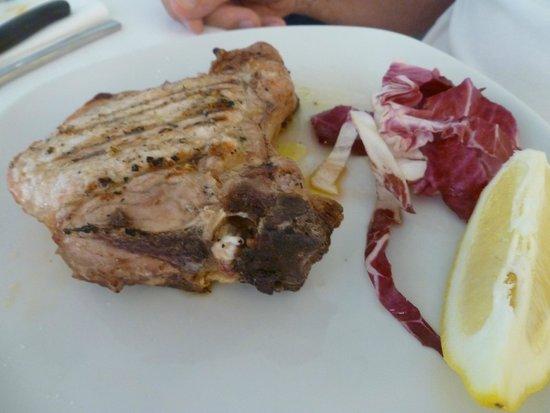 Ristorante la Campanella: delicious pork chop