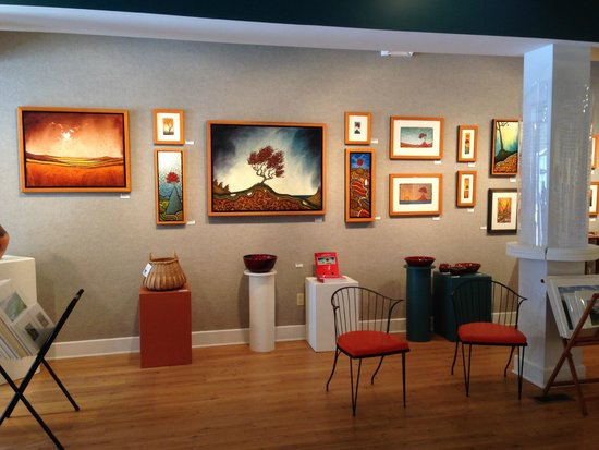 Travel Writer Brandon Sousa visits The Arts Center of Yates County