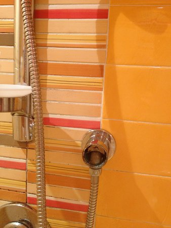 Homs Hotel: braccio della doccia