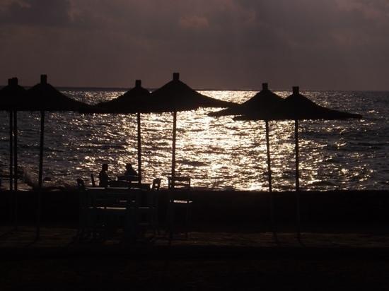 Hotel St. George: Romantic views at the beach bar