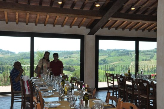 Walkabout Florence Tours : The wine tasting venue