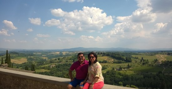 Walkabout Florence Tours : The views from San Gimignano