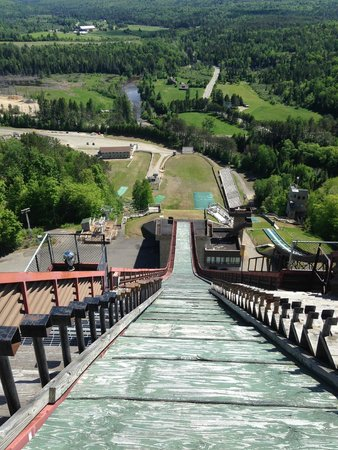 Olympic Ski Jump Complex : View from the top