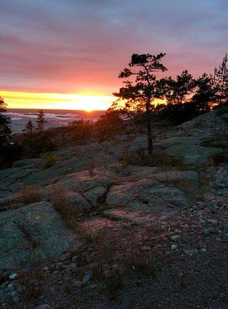 HavsVidden, BW Premier Collection: Solnedgång vid HavsVidden.