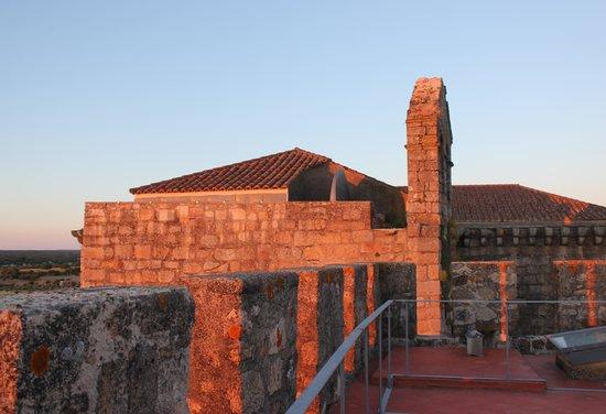 Pousada Mosteiro do Crato: Terraço da Torre.
