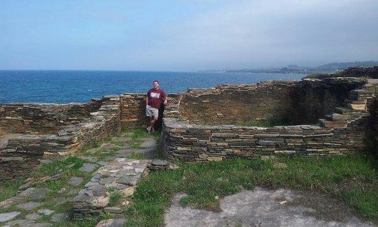 Castro de Fazouro: The ruins