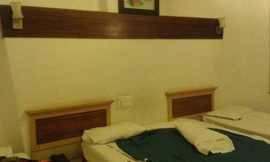 Usha Kiran Palace Hotel & Tower: Pusimos nuestras sabanas