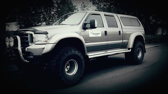 Wild West Tours: Our Ford 250 truck from our fleet.