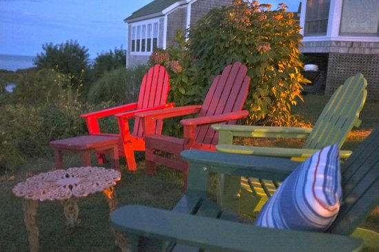 The Sea Breeze: Sunset in the chairs