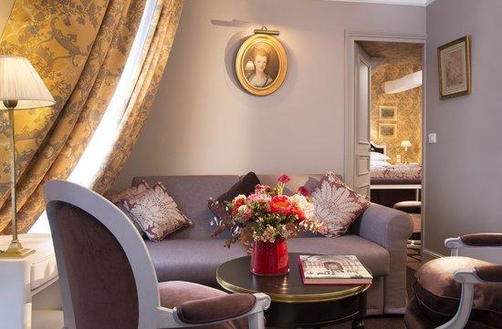 Hotel De Buci by MH : Suite Madame de Pompadour