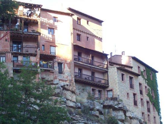Albarracín: CASAS DE ALBARRACIN.