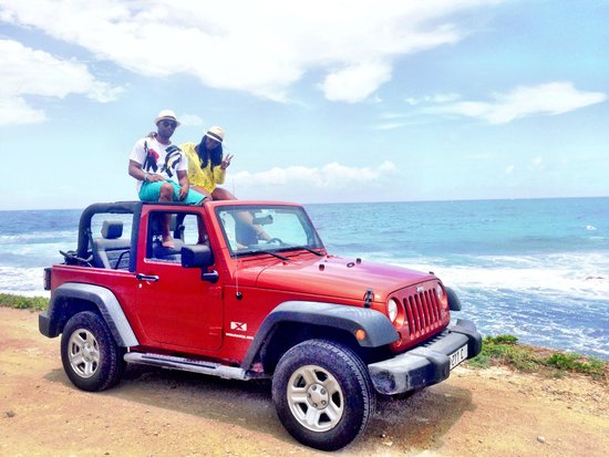 Sonesta Great Bay Beach Resort, Casino & Spa: Jeep tour Saint barths