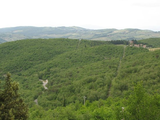 Borgo di Pietrafitta Relais: The view speaks for itself