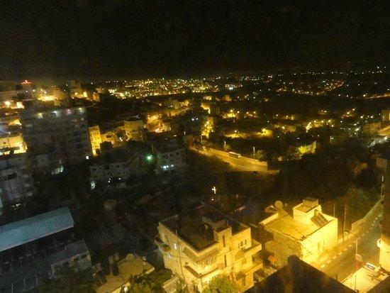 Manger Square Hotel: Panorama della valle di Bethlehem dalla stanza