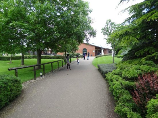 De Vere Staverton Estate: Leading to Gym, Pool, etc