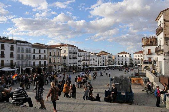 Arco de la Estrella: Plaza Mayor