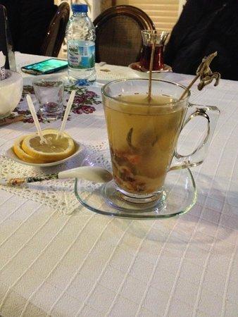 Imren Han Hotel & Mansions: English Lavender Tea at Imren pastry shop