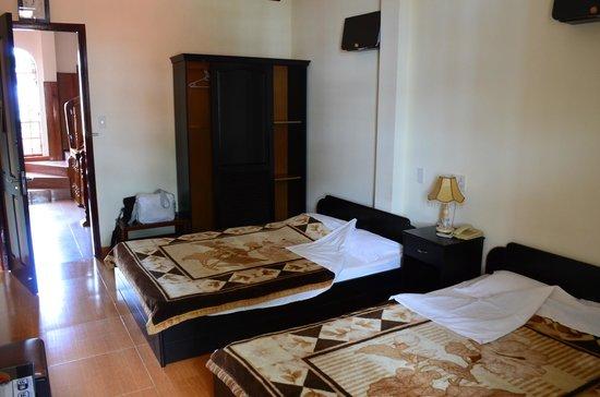 Villa Pink House: две кровати