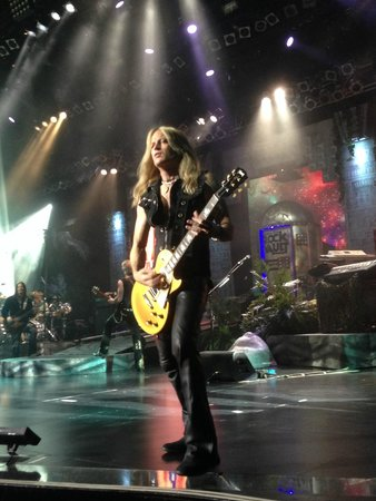 Raiding The Rock Vault: Doug Aldrich of White Snake performing in Rock Vault