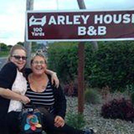 Arley House B & B: good sign  :)