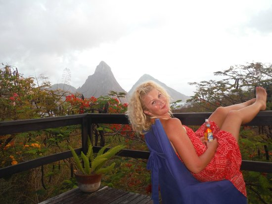 Anse Chastanet: Lounging