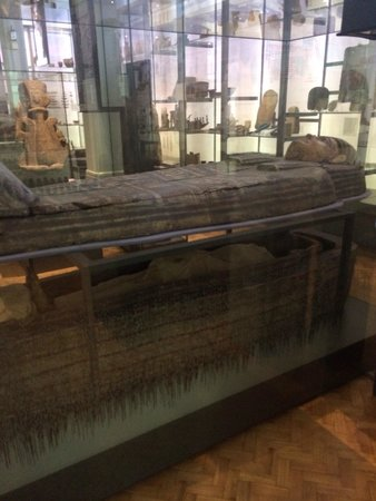 The Manchester Museum: Real life mummy and tomb