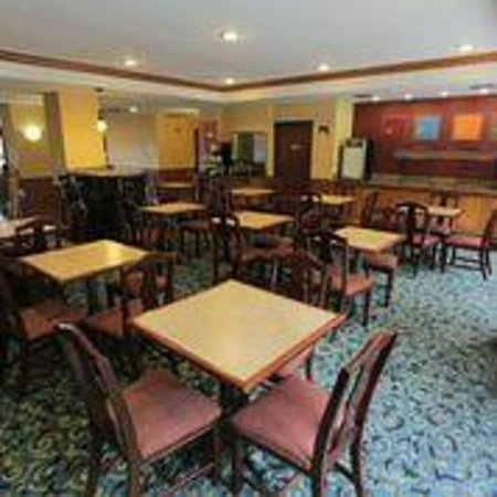 Comfort Inn International: Breakfast Area