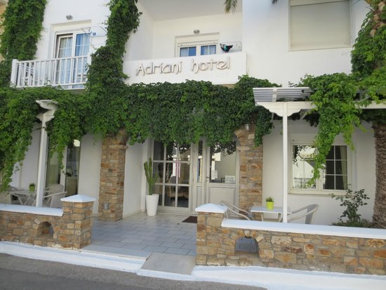 Adriani Hotel : The entrance