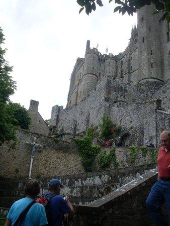 Abbaye du Mont-Saint-Michel : part of the exterior