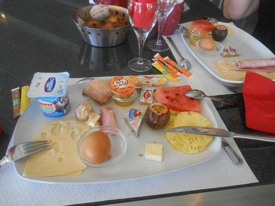 Grand Hotel des Mascareignes: petit dejeuner