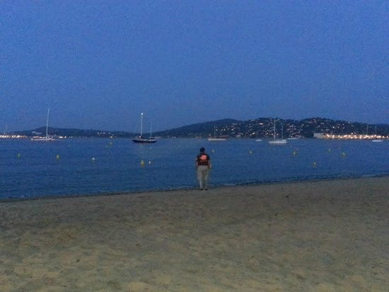 Soleil Vacances Hotel Saint Tropez : vue de Saint Tropez à 30mn en voiture de l'hôtel