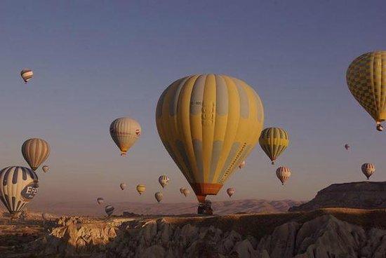 Butterfly Balloons : A vista lá de cima..