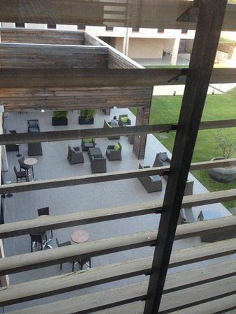 Grand Prix Hôtel: Vue depuis le pation 2ème étage