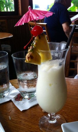 Haleiwa Joe's Seafood Grill: Piña colada