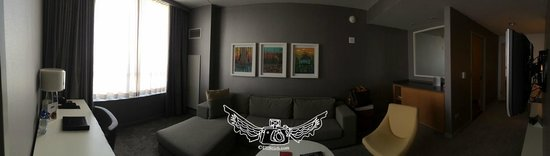 Loews Chicago O'Hare Hotel : suite