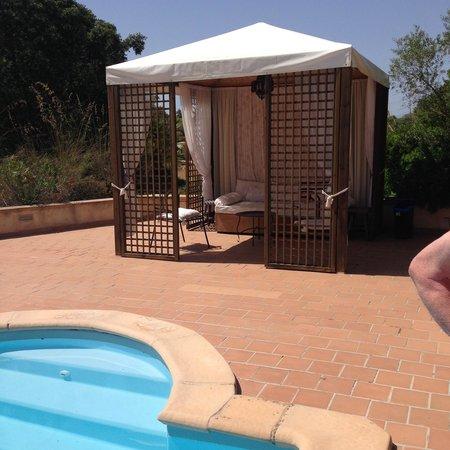 Finca Son Jorbo: Gazebo at the Pool
