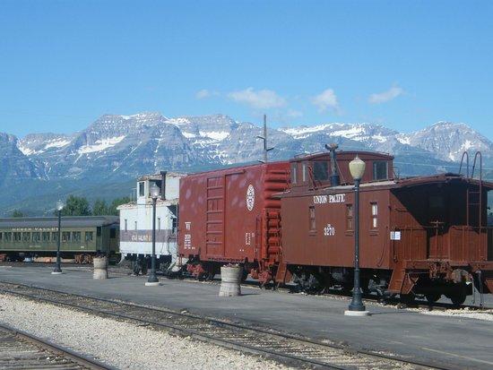 Heber Valley Railroad: Trains in Railyard