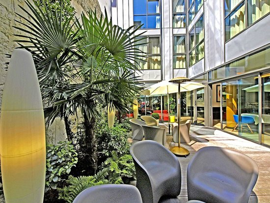 Hôtel HOR : Jardin