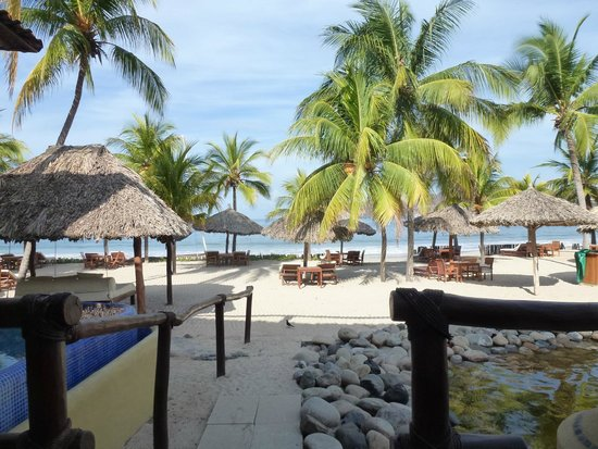 Viceroy Zihuatanejo: View from the back of our room
