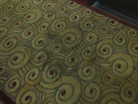 Econo Lodge Champaign Urbana – University Area : stains in carpet