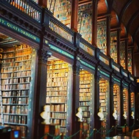 The Book of Kells and the Old Library Exhibition: The Long Room, Trinity College, Dublin @Ca11am