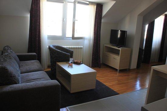 Hotel Nevski: Separate living area