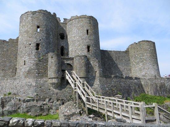 Morlyn Guest House: Harlech Castle