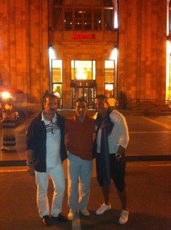 Armenia Marriott Hotel Yerevan: entree de l hotel